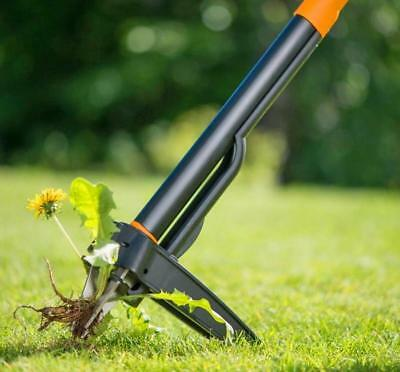 Fiskars Deluxe Stand Up Hand Tool Weeder Garden Claw 39 Inch Weed Grip Removal !