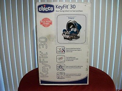 Chicco KeyFit 30 Infant Car Seat/Base - Polaris
