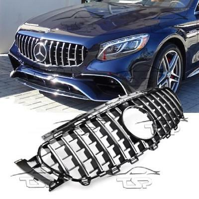 Front Chrome Grill For Mercedes W213 Class E Panamericana Amg E63 Look 213034