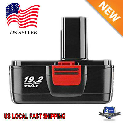 19.2V Of Craftsman DieHard C3 NiCd Battery 11375 11376 130279005 130279003 3.0AH