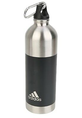 d1106af7 ADIDAS STEEL WATER Bottle Sports Tumbler Silver Cycling 750ml Gift Cups  CF6145