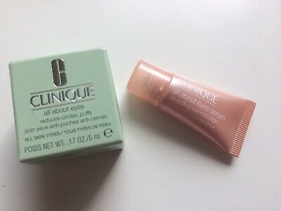 Clinique All About Eyes Augenserum 5ml + Augencreme 5ml *NEU*