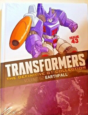 Transformers  Def.  G1 Collection = # 43 = Vol 62 = Earthfall