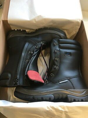 475f4313cb1 ABOUTBLU SAFETY BOOTS With Side Zip