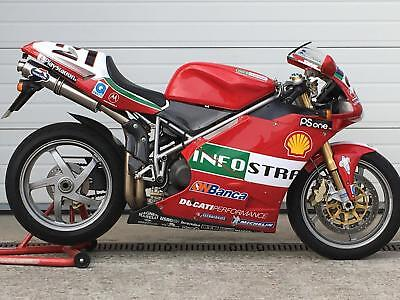 Ducati 998S Bayliss Rep - Immaculate one owner example - only 7413 miles !!