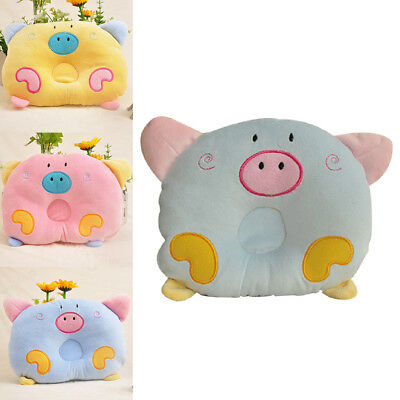 Cute Positioner Infant Pig Sleeping Baby Prevent Flat Head Head Pillow Shaped