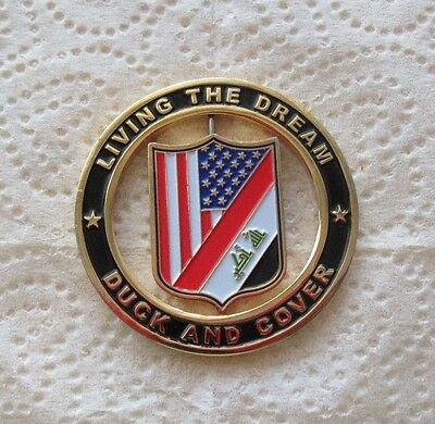 USMC Marine Security Guard Detachment MSG-Det Baghdad Iraq Challenge Coin