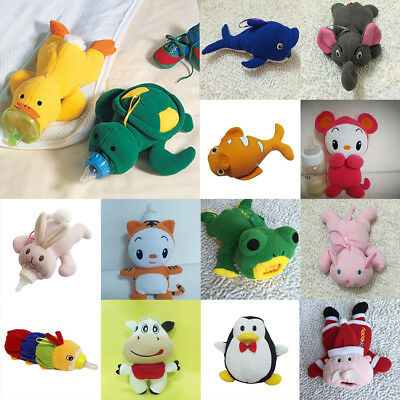 Keep Warm Nursing Cartoon Cute Holders Soft Bottle Plush Feeding Milk Covers