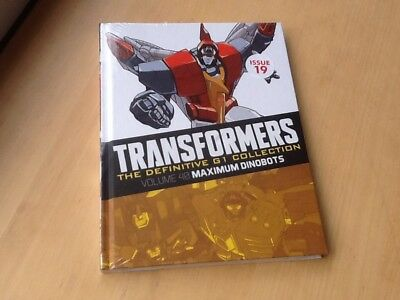 Transformers G1 The definitive collection issue 19 Volume 40 (Brand New Sealed)