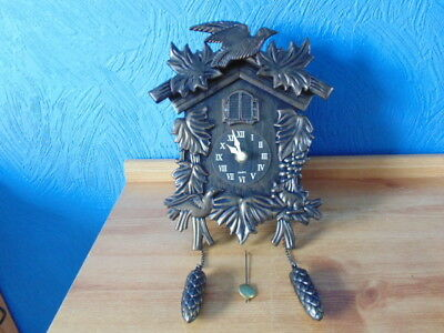 Modern Version Of Traditional Black Forest Cuckoo Clock