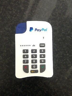 Paypal - White - Contactless Chip & Pin Card Reader - Blueetooth