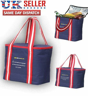 Travel Waterproof Portable Thermal Cooler Insulated Lunch Ice Picnic Tote Bag