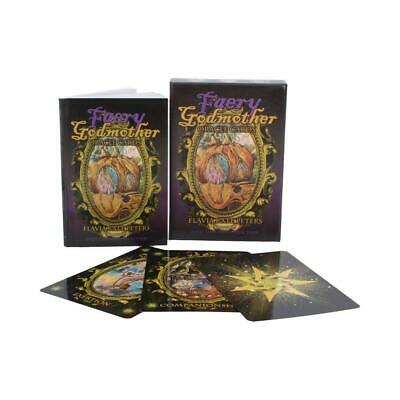 Faery Godmother Oracle Cards Wiccan Deck and information book fantasy