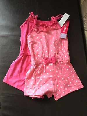 Girls Pink Play suits New 3-4