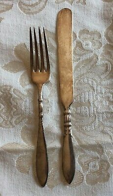 Youth Fork And Knife 1847 Rogers Bros