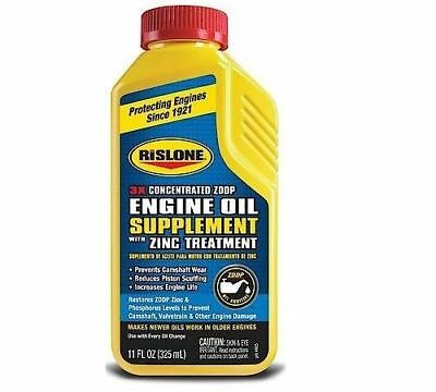 Rislone Zinc Engine Oil Supplement, 3x Concentrated
