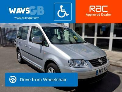 Volkswagen Caddy Life Auto Drive From Wheelchair