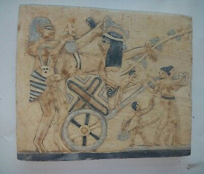 Replica Rare Antique Ancient Egyptian stela sex family in Ancient Egypt BC