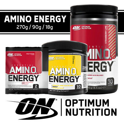 Optimum Nutrition ON Amino Energy 270g Essential Amino Acid BCAA ALL FLAVOURS