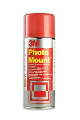 3M PhotoMount Adhesive Spray Can CFC-Free Non-Yellowing (400ml)
