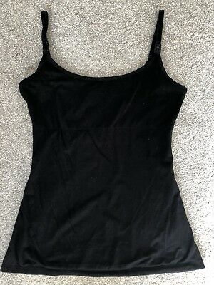 Nusing/Maternity/Breastfeeding Cami Top with support size 14