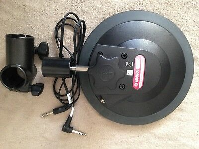 Yamaha tp65 tom/snare pad with arm, clamp and cable tested in great condition