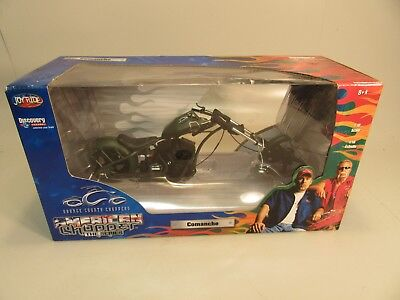 2004 American Choppers Orange County Comanche Motorcycle 1/10 Scale