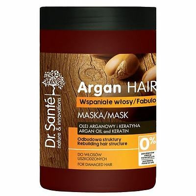 Dr.Sante Natural Mask with Argan and Keratin for Damaged Hair 1000ml