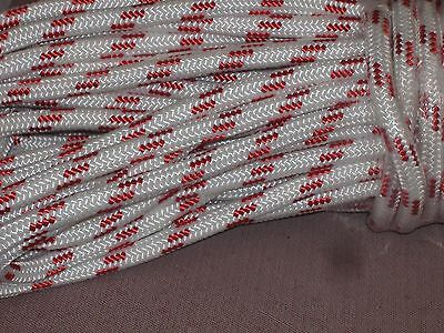 "Double Braid Polyester 1//2/""x 85 feet yacht braid halyard line can be spliced"