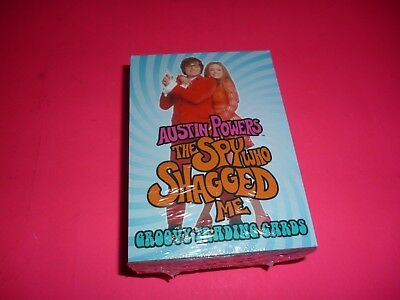 1997 Austin Powers The Spy Who Shagged Me Non-Sport Card Complete Set 1-72