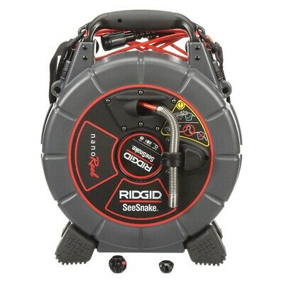 Ridgid 40008 SeeSnake nanoReel Industrial Video Inspection System