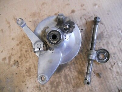 Honda 1967 Ct90 Front Brake Hub And Axle   #1081
