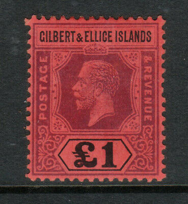 Gilbert & Ellice Islands #26 (SG #24) Very Fine Mint Original Gum Hinged