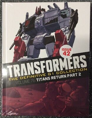 Transformers The Definitive G1 Collection #42 Titans Return Pt 2
