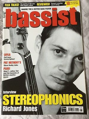 Bassist Magazine August 1999 Stereophonics