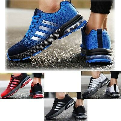 Fashion Men Shoes Lady Pumps Trainers Lace Up Mesh Sports Running Casual Sz 3-11