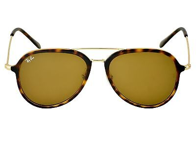 6cc00b73c5d Ray-Ban RB4298 710 51 Tortoise Gold Frame Light Brown Gradient Lenses Unisex