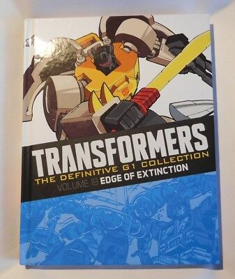 Transformers - The Definitive G1 Collection Vol 18 Edge of Extinction