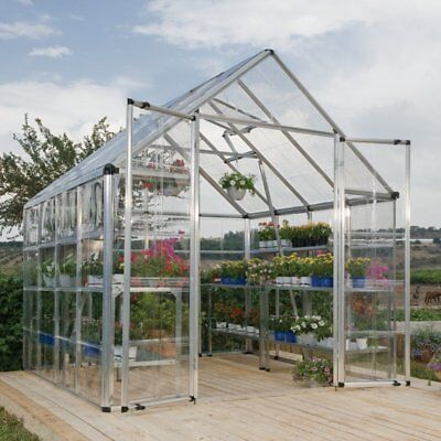 Palram Snap & Grow 8 x 8 ft. Greenhouse