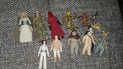 Star wars vintage Figuren