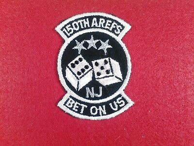 U.s.a.f...150Th Air Refueling Squadron. (Bet On Us), Nj Ang, New, 80's,