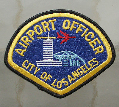 Airport Officer City of Los Angeles patch, new, unused, excellent