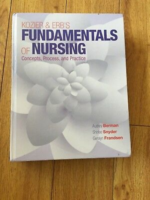 Kozier & Erb's Fundamentals of Nursing by Berman & Snyder 10th Edition Hardcover