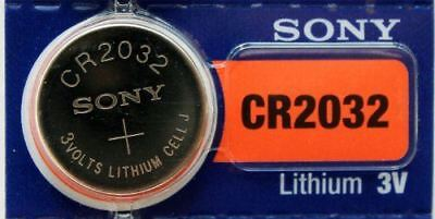 5PC SONY 2032 CR2032 3V Lithium Battery