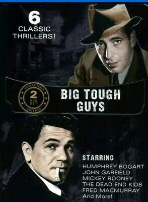 Big Tough Guys Collection (DVD, 2012, 2-Disc Set, Tin Case)New and Sealed