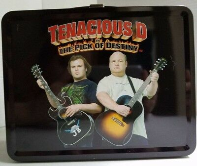 Tenacious D Metal Lunch box with thermos brand new