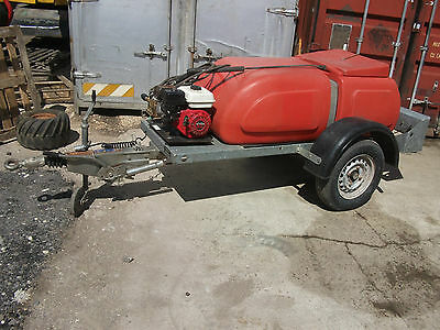 2006 Western 500 litre 110 gallon compact bowser pressure washer 100 bar