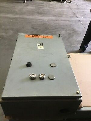 Square D 8536Sfa1V02S Nema Size 4 Starter Mounted In Type 12 Enclosure 120V Coil