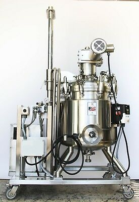 Holloway 150 Liter Vacuum Mixer Explosion Proof, Scrape, Jacketed Pharmaceutical