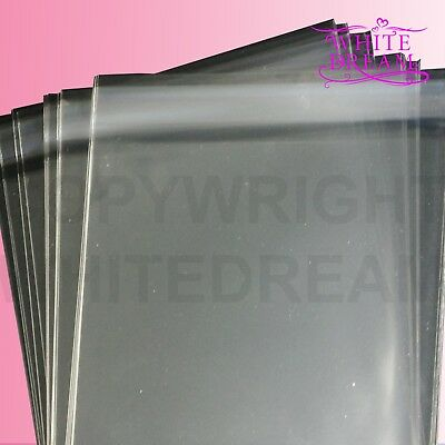 Clear Cello Card Bags | Cellophane Display Bag for Cards & Photos | FREE UK POST